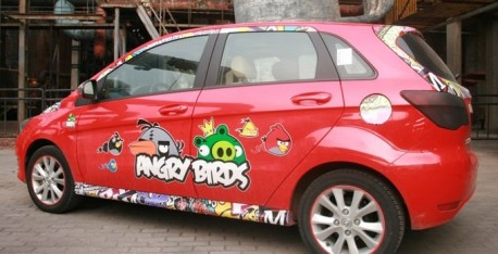 Beijing Auto E-series is an Angry Bird in China
