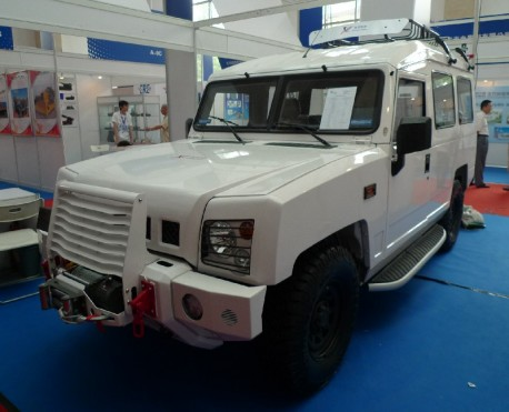 Beijing BJ2022 gets Armored in China