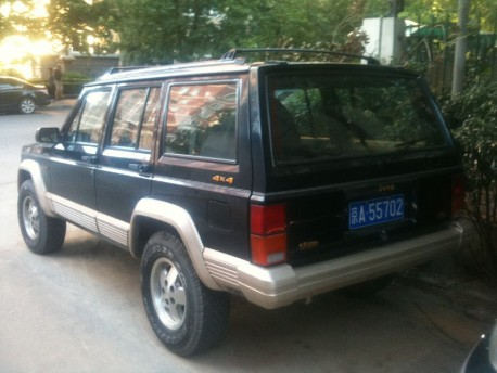 Spotted in China: Beijing-Jeep Cherokee Limited