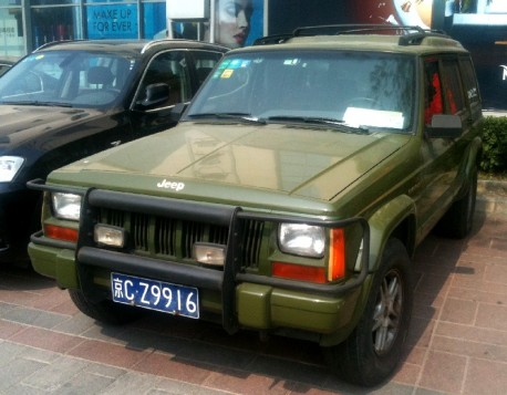 Spotted in China: Beijing-Jeep Super Cherokee