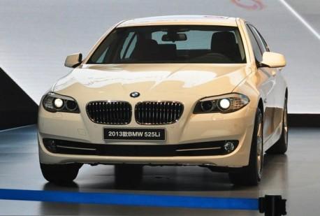 BMW 5Li with 2.0 Turbo hits the China auto market