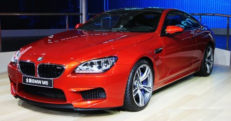 BMW M6 Coupe hits the China auto market