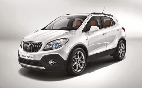 Leaked: official pics of the China-made Buick Encore