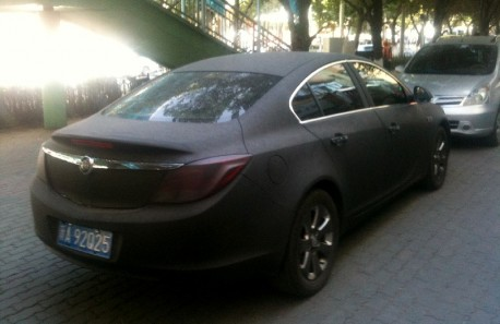 Spotted in China: Buick Regal in matte-black