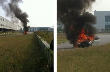 1000hp Nissan GT-R Burns in Beijing