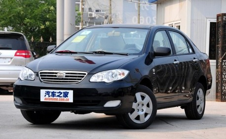 Old BYD F3 continues for another term in China