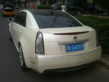 Cadillac CTS goes Kitch in China