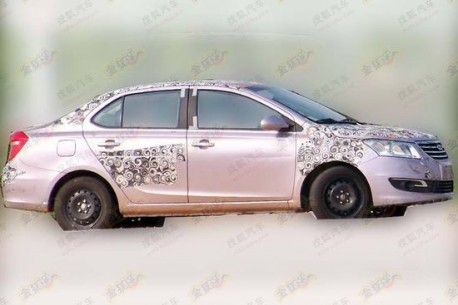 Spy Shots: Chery A19 testing in China