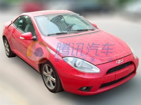 Spy Shots: Chery M14 is back from long gone