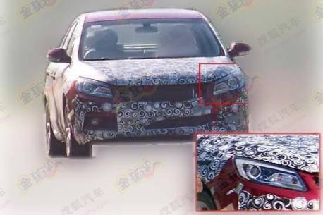 Spy Shots: Chery M16 still testing in China