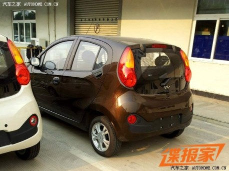This is it: new Chery QQ is Ready for the Chinese auto market