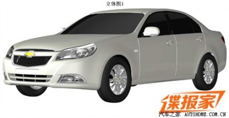facelifted Chevrolet Epica for China