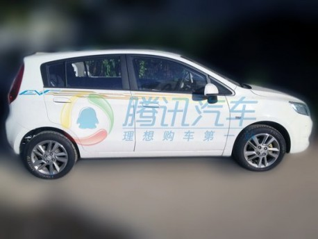 electric Chevrolet Sail without Camouflage in China