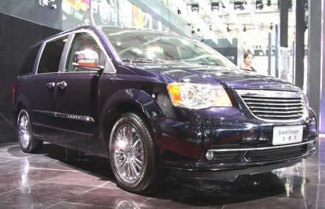 Chrysler Grand Voyager will be launched in China in November