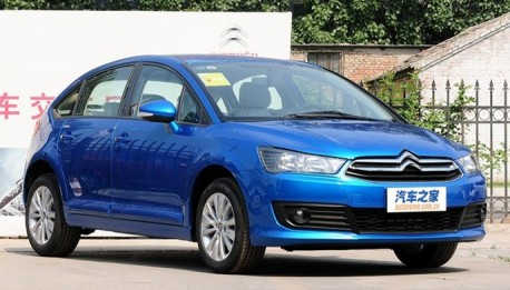 Citroen C4 hatchback China