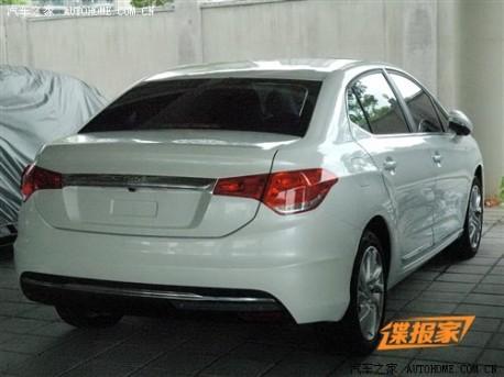 New Citroen C4L