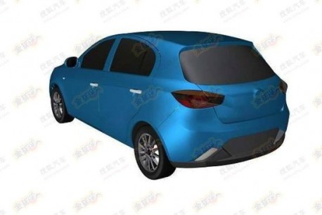 FAW Oley hatchback for China