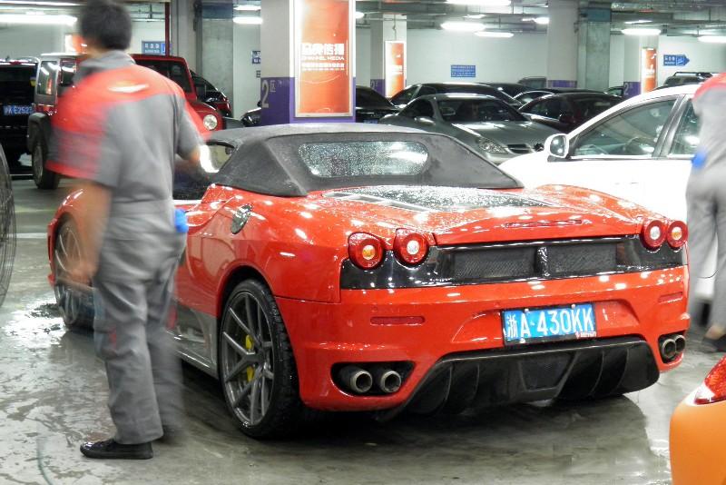 Spotted In China Ferrari F430 Scuderia Spider 16m Carnewschina