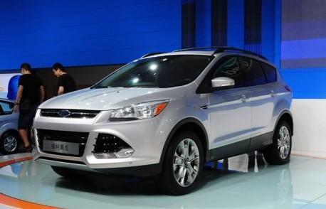 Chengdu Auto Show: China-made Ford Kuga has arrived