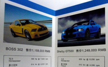 What Ford is Missing: 2013 Mustang V6 sells for 90.000 USD in China