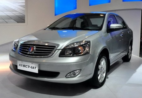 Geely SC7 gets an automatic gearbox in China
