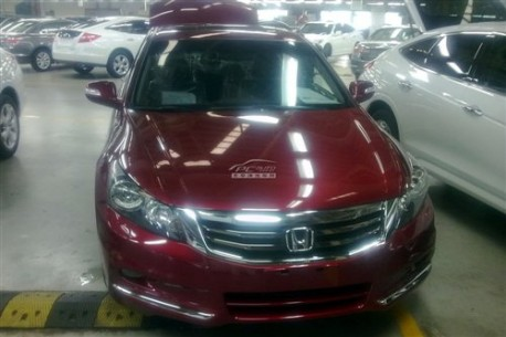 facelifted Honda Accord in Ready in China
