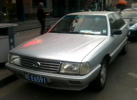 Spotted in China: Hongqi CA7220 V6