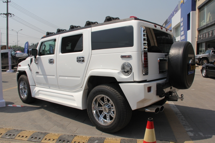 Hummer H2 With A Body Kit In China Carnewschina