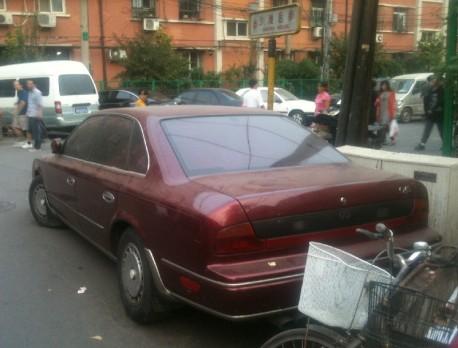Spotted in China: Infiniti Q45 sedan
