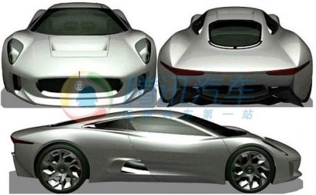 production version of the Jaguar C-X75