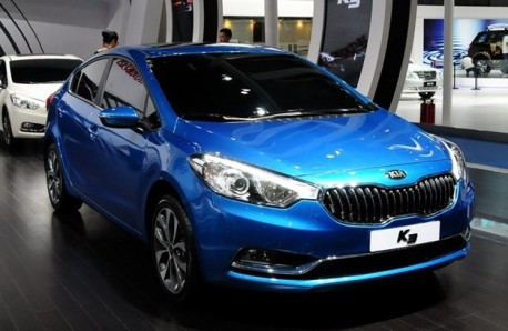 Kia K3 will be launched in China in October