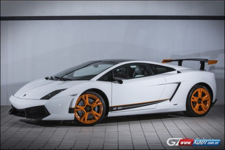 Lamborghini Gallardo LP550-2 GZ8 Edizione Limitata for China