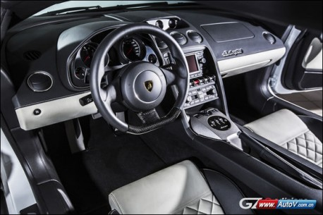 Lamborghini Gallardo LP550-2 GZ8 Edizione Limitata for China