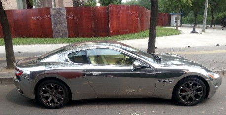 Maserati GT in Chrome in China