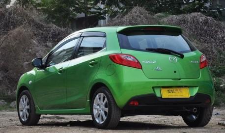 Facelifted Mazda 2 hits the China auto market