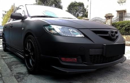 Mazda 3 is matte black in China