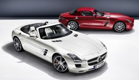 Mercedes-Benz SLS AMG Convertible to come to China in November