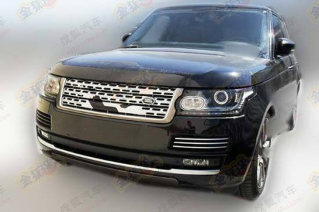 New Range Rover is ready for the Chinese auto market
