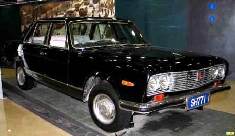 China Car History: the Shanghai SH771