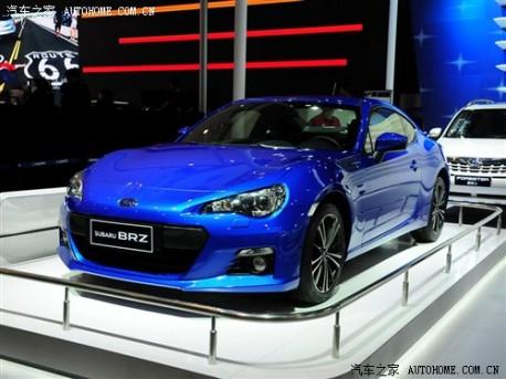 Chengdu Auto Show: Subaru BRZ debuts in China