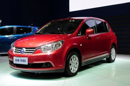 Dongfeng-Nissan Venucia R50 debuts in China
