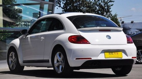 Volkswagen Beetle gets a Price in China