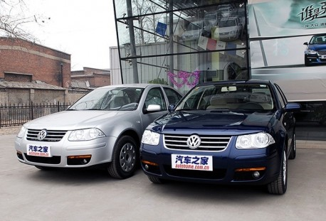 (Recent) China Car History: the Volkswagen Golf-Bora
