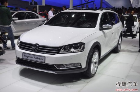 Chengdu Auto Show: Volkswagen Magotan Alltrack launched in China