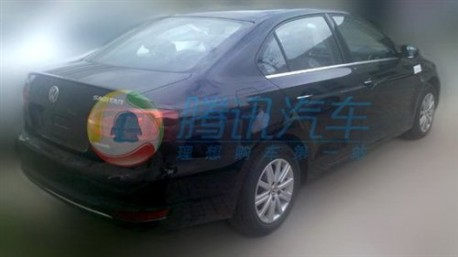 Volkswagen Sagitar Blue Motion testing in China