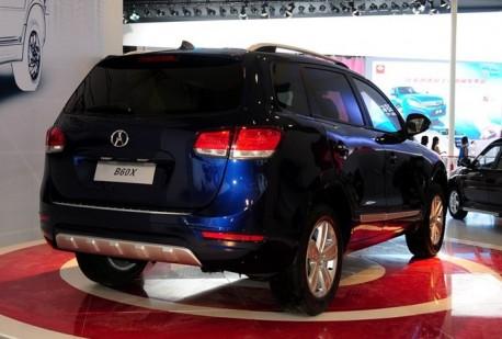Chengdu Auto Show: Yema B60X SUV Concept debuts in China