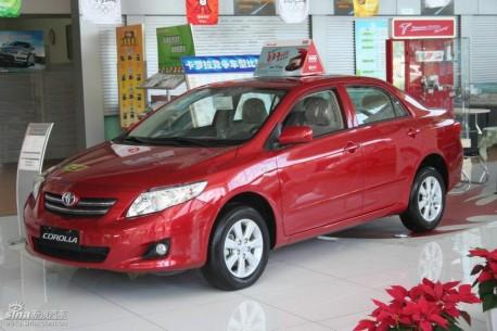 Tianjin-FAW-Toyota Corolla