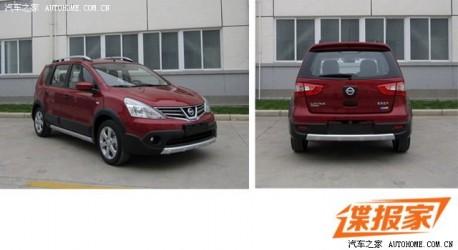 Spy Shots: facelifted Nissan Livina & Livina Cross naked in China
