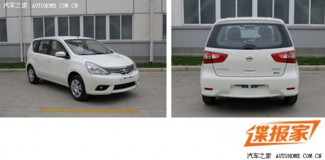 Spy Shots: facelifted Nissan Livina & Livina Cross naked in China