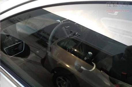 Spy Shots: JAC BII sedan is Naked in China